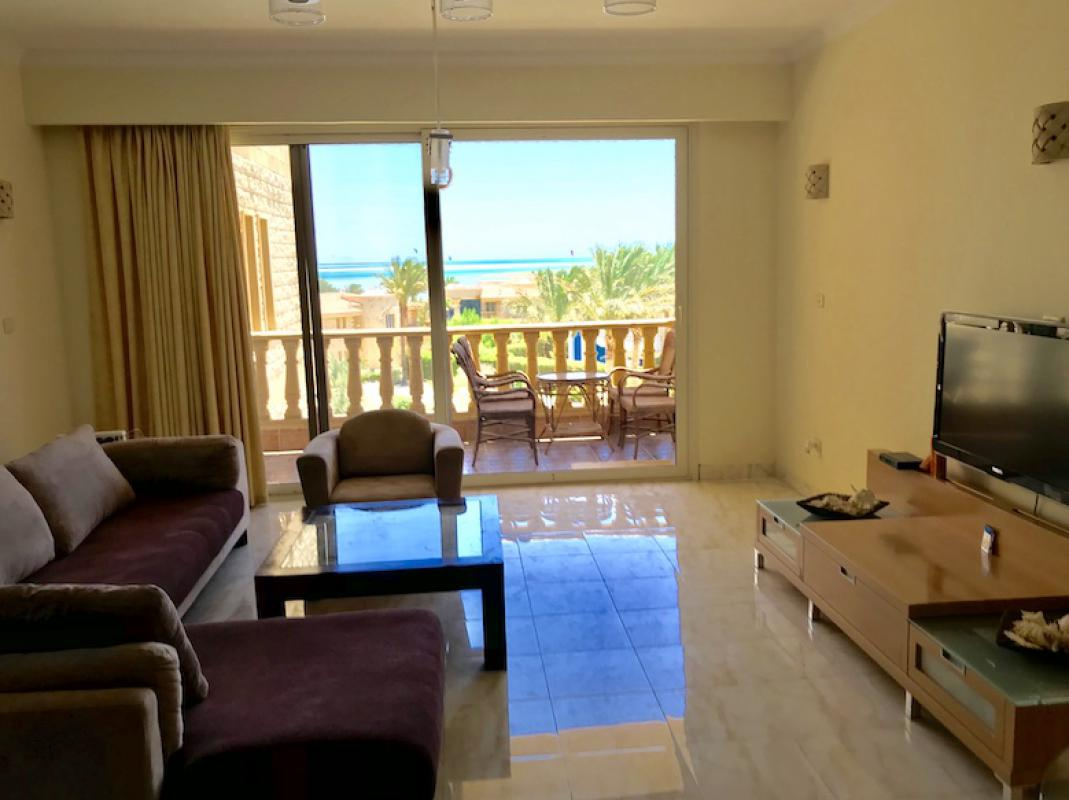 SUNRISE SEA VIEW 1BR APARTMENT HURGHADA