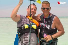 TOP rated Hurghada  kitesurfing lessons