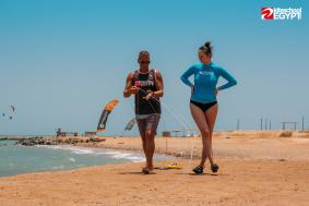 TOP rated Hurghada kitesurfing courses