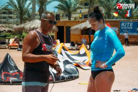 TOP rated Hurghada kiteboarding lessons